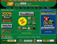 Casino on Net Homepage