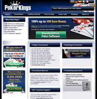PokerKings Homepage